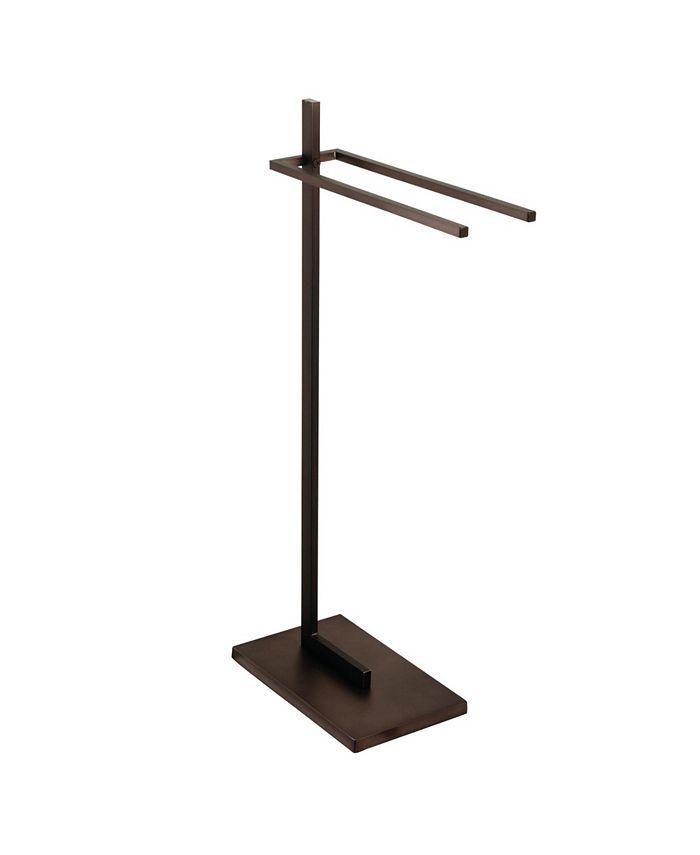 Kingston Brass - Modern Pedestal Dual Towel Rack