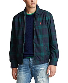 Men's Big & Tall Bi-Swing Plaid Lined Jacket