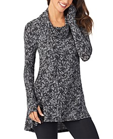 Women's Softwear With Stretch Cowlneck Tunic