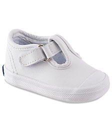 Keds Champion Toe-Cap T-Strap Shoes, Baby Girls & Toddler Girls