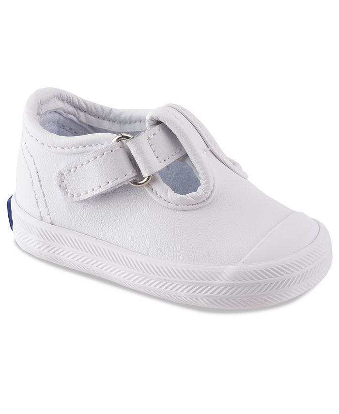 Keds - Kids Shoes, Baby Girls or Toddler Girls Champion Toe-Cap T-Strap Shoes