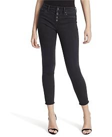 Jessica Simpson Junior Kiss Me Vintage Ankle Skinny Jeans