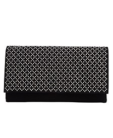 INC Veronica Velvet Sparkle Clutch, Created For Macy's