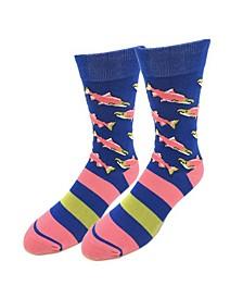 Sockeye Salmon Socks