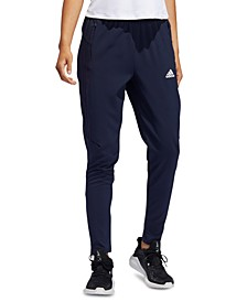 Women's Mesh-Striped Training Pants