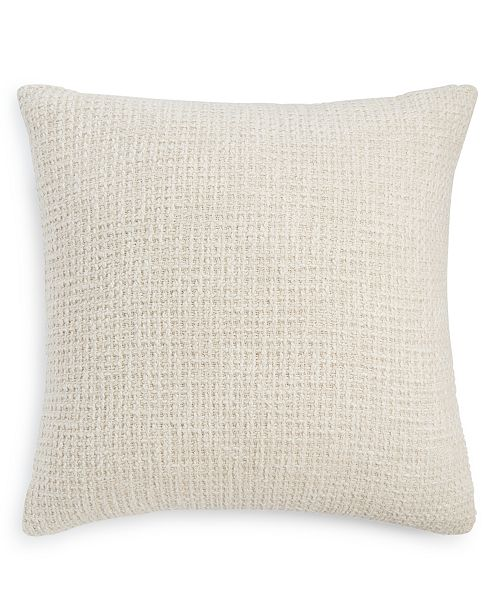 """Hotel Collection CLOSEOUT! Honeycomb 22"""" x 22"""" Decorative Pillow, Created for Macy's"""