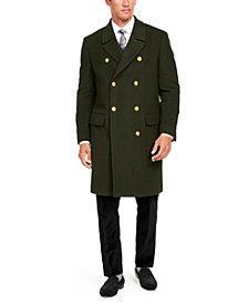 Tallia Orange Men's Slim-Fit Solid Overcoat