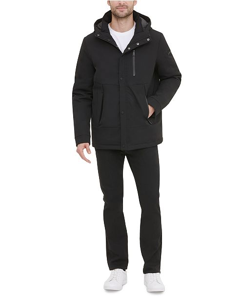 Kenneth Cole New York Men's Hooded Jacket