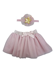 Popatu Baby Girl Tutu with Star Headband