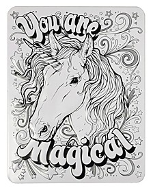 Color-Your-Own Metal Art, Girls, 3 Pack
