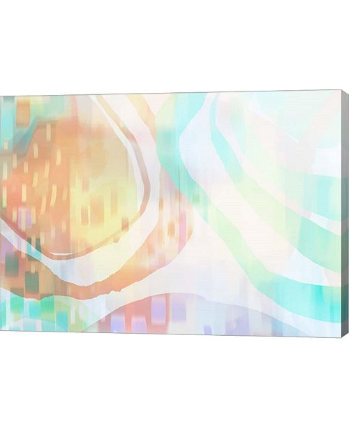 "Metaverse Prairie Peach by Delores Naskrent Canvas Art, 27.5"" x 20"""