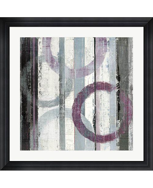 """Metaverse Plum Zephyr II by Mike Schick Framed Art, 32"""" x 32"""""""