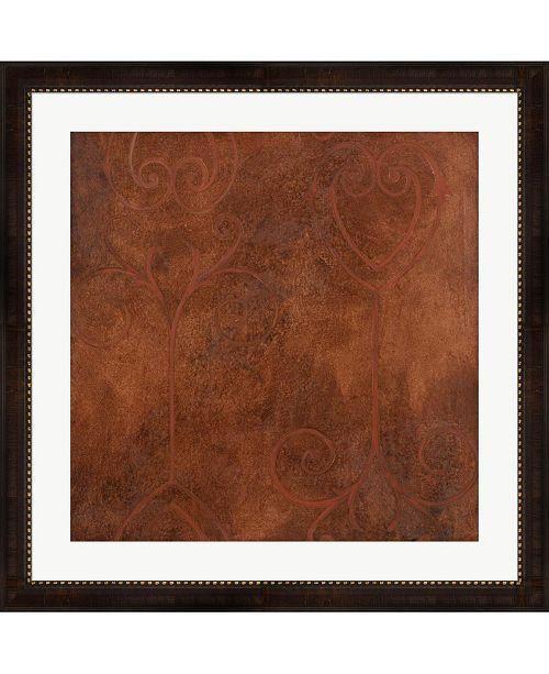 "Metaverse Rust by Pablo Esteban Framed Art, 32"" x 32"""