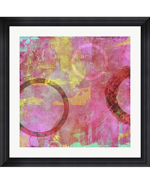 "Metaverse Circle Carnival I by Amber King Framed Art, 32"" x 32"""