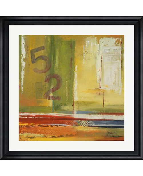 """Metaverse House 52 by Patricia Pinto Framed Art, 32"""" x 32"""""""