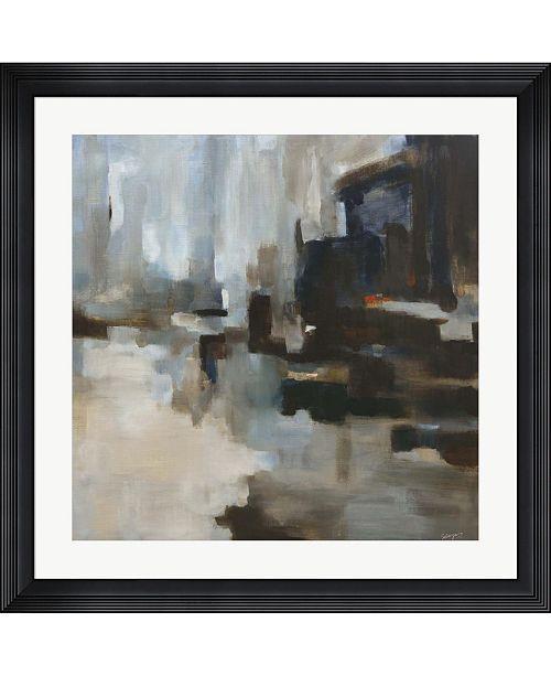 "Metaverse Rainy Day by Solveiga Framed Art, 32"" x 32"""