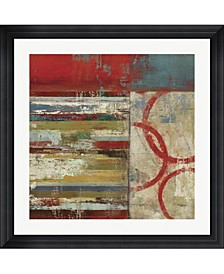 """to The Right by Posters International Studio Framed Art, 32"""" x 32"""""""