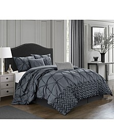 Piercen 7-Pc. King Comforter Set