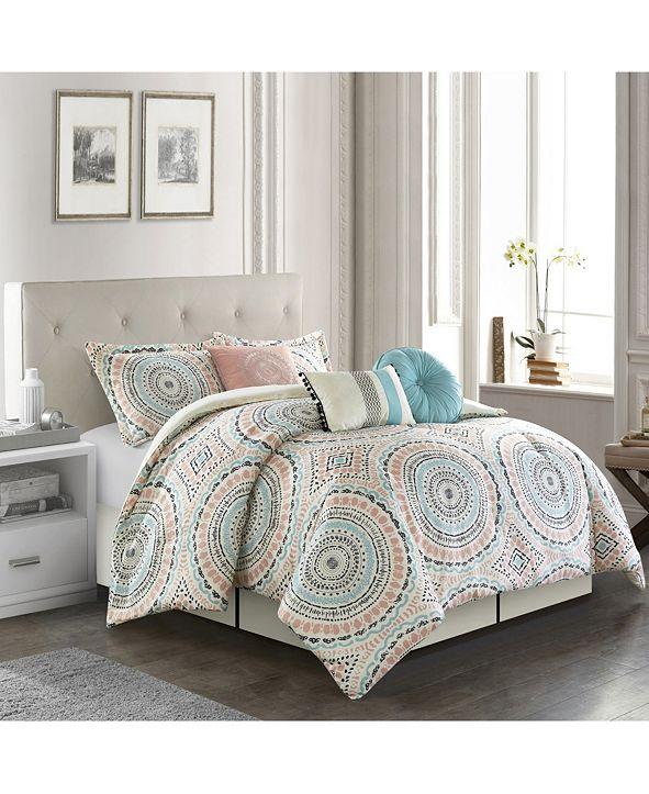 Nanshing Nason 7-Pc. California King Comforter Set