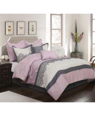 Claudette 7-Piece  Queen Comforter Set