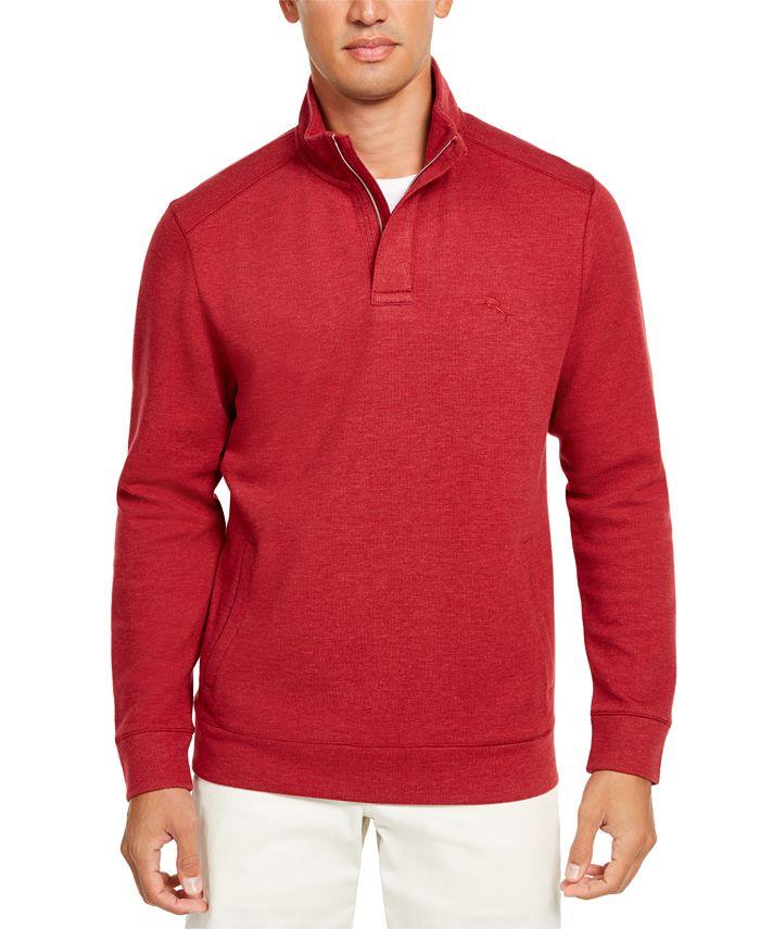 Tommy Bahama - Men's Playa Pina Port Classic-Fit 1/2-Zip Sweatshirt