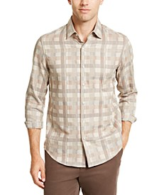 Men's Box Plaid Shirt, Created For Macy's