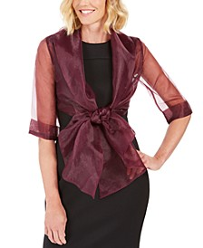 Organza Wrap Jacket