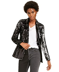 INC Allover-Sequin Blazer, Created For Macy's
