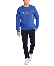 Men's Fleece Logo Graphic Sweatshirt