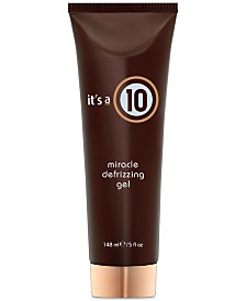 It's a 10 Miracle Defrizzing Gel, 5-oz., from PUREBEAUTY Salon & Spa