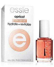 essie nail care, apricot cuticle oil