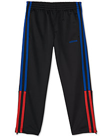 adidas Little Boys Climalite® Three-Stripe Pants