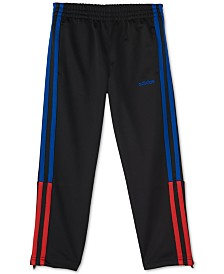adidas Little Boys Climalite® Three-Stripe Pants
