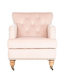 Colin Tufted Club Chair, Quick Ship