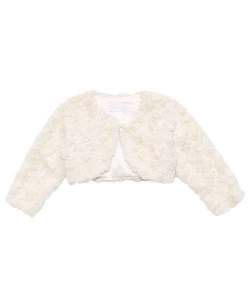Bonnie Baby Baby Girls Faux Fur Jacket