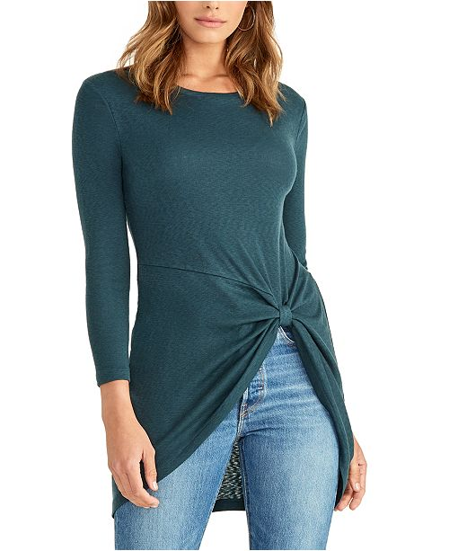 RACHEL Rachel Roy Knot-Front Sweater