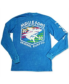 Maui and Sons Men's Surf Thrasher Logo Graphic T-Shirt