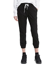 Jet Set Cropped Jogger Pants