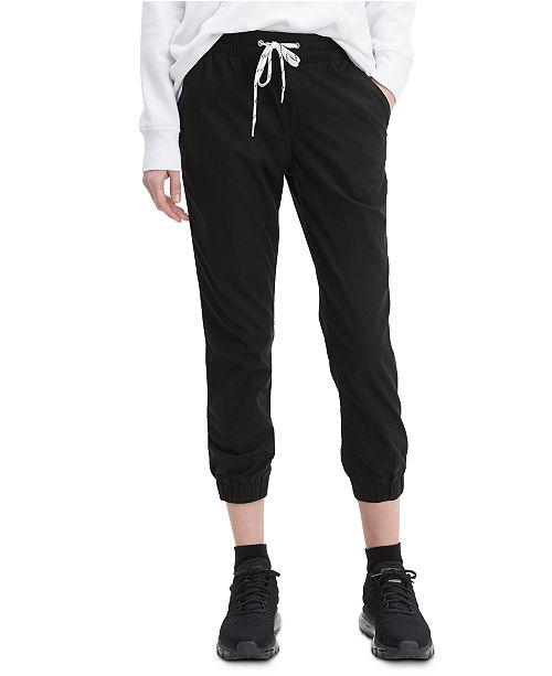 Levi's Women's Drawstring-Waist Jogging Pants