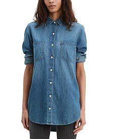 Levi's® Leni Denim Tunic Shirt