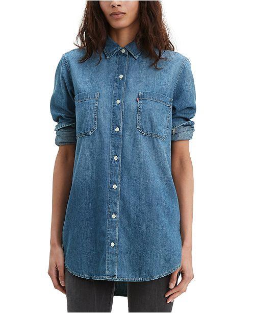 Levi's Women's Leni Denim Tunic Shirt