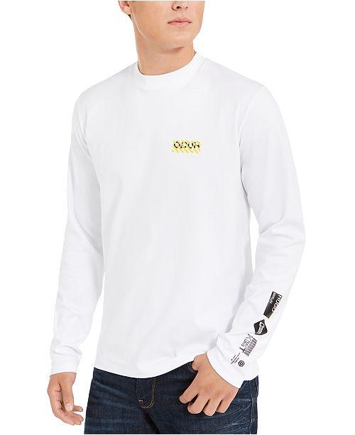 HUGO Boss Men's Bear Logo Long-Sleeve T-Shirt