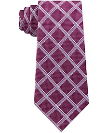 Men's Asymmetric Grid Tie