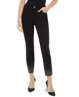 INC Studded Skinny Jeans, Created For Macy's
