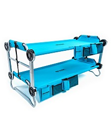 Disc-O-Bed with Side Organizers