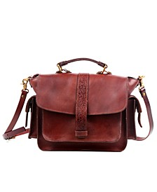 Valley Breeze Leather Crossbody Bag