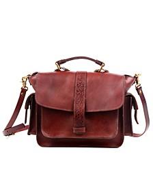 Valley Breeze Leather Crossbody Bag