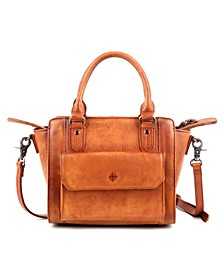 Maya Leather Crossbody Bag