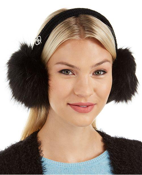 Michael Kors Faux-Fur Earmuff