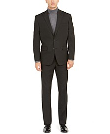 Men's Classic-Fit Micro-Check Suit